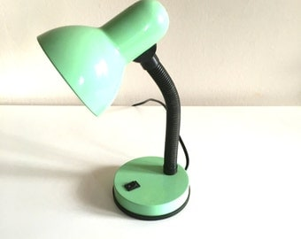 Lamp Green Office, vintage, 80 s