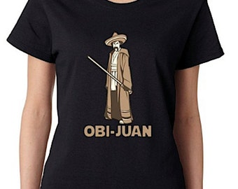 Obi-Juan Funny Women's T-Shirt Star Wars