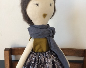 Jeanne doll fabric