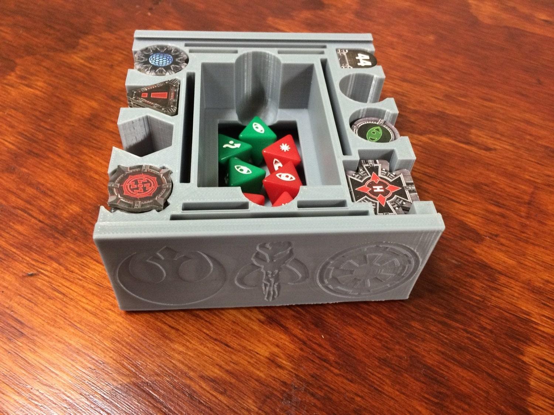 Star Wars X Wing Miniature Token Holder Ultimate Version