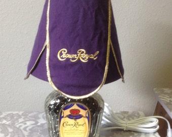 Crown Royal lamp
