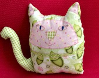 Handmade Peas in a Pod Cat