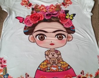 SALE! Lil Frida Kahlo t-shirt