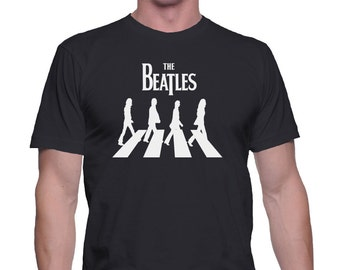 The beatles John Lennon Logo men shirt,pop shirt,rock t-shirt,The beatles men t-shirt,The beatles,Gift for Her,The beatles clothing,teen