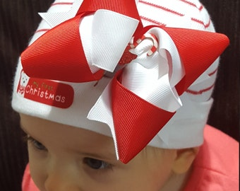 Embellished Baby's 1st Christmas Hat