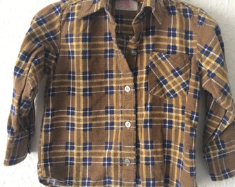 The Josh Vintage Kids Flannel Shirt - Age 2 Years