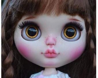 """Chubby""""Cutie""""Ooak Blythe custom doll"""