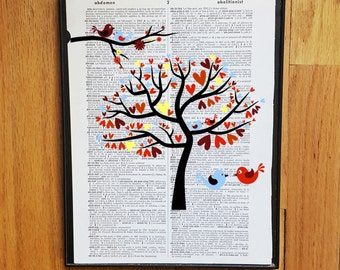 Netflix together couple dictionary print art by for Together dictionary