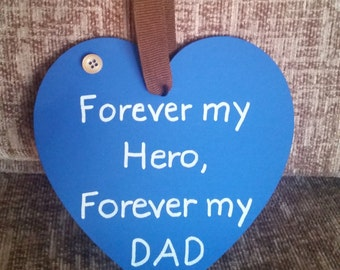 Fathers day hearts