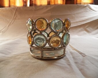 Art Deco Votive Candle Holder