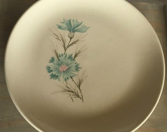 CLEARANCE Taylor Smith Taylor Ever Yours Boutonniere Turquoise Dessert/Bread Plate