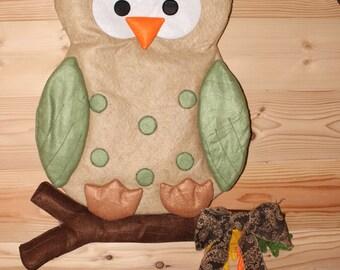 Owl Whimsical Door Hanger