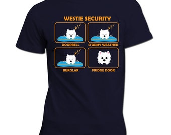Westie - Westie Security | Westie | Westie Gift | Father's Day Gift