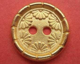 15 mm (1995) metal button buttons 12 metal buttons gold