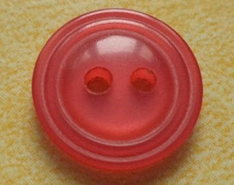 10 small red buttons 14mm (5682) button