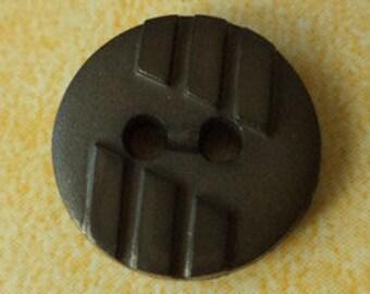 10 small dark green buttons 14mm (5715) button