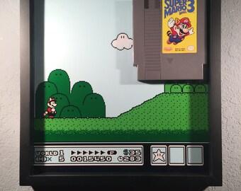 Super Mario 3 Shadow Display