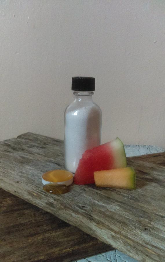 Quench Hydration Mask/Watermelon/Cantaloupe/Honey/Kaoilin/Colloidal Oatmeal/Organic Aloe Vera Powder/Cooling