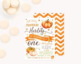 Pumpkin 1st birthday Etsy
