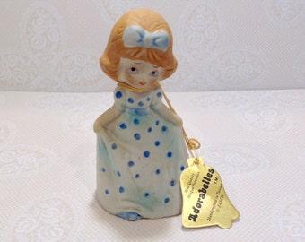 Vintage Jasco Adorabelles Bell Girl in Blue