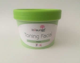 Toning Facial Mask