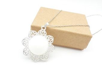 DIY Breast Milk Pendant Necklace Keepsake Kit