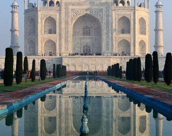The Taj Mahal ,Photography print, Taj Mahal Reflection, Wall Art, Fine Art Print