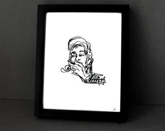 ASAP Rocky - 8x10 Hip Hop Art Print