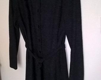 Vintage Dress, Black Dress, 1960s C & A Dress, Vintage Fashion, Retro Style