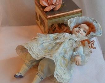 OOAK  Art Doll Bonni cutie   Handmade