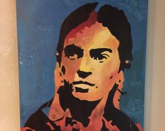 Frida Kahlo Painting, Gallery Style Frida Kahlo Painting, Frida Kahlo Stretched Canvas