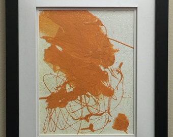 16x20 latex/acrylic painting on canvas framed