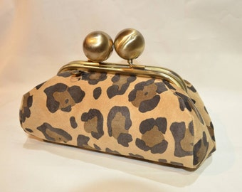 Leather coin purse back