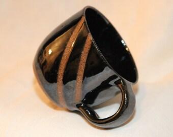 Line Series: Small Black Mug