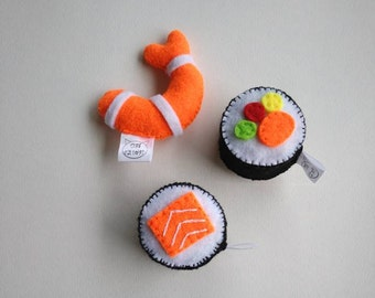 Sushi Catnip Toy, Sushi Cat Toy