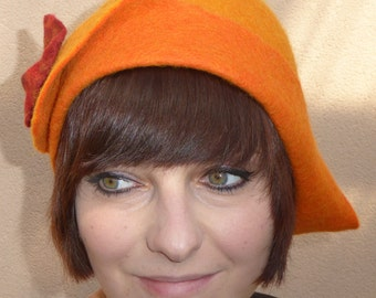 "Brim hat ""Apricot"" of Kerso.de Hat design"