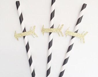 Arrow- Arrow Party- Wild One Party- Paper Straws- Wild One Party Decor- Arrow Party Decor- Decorative Straws-Firt Birthday Party- Wild One