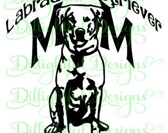 Labrador Retriever SVG Digital Decal Digital Download Labrador Retriever SIL PNG Sticker