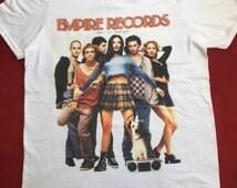 Empire Records Unisex White T-shirt S,M,L,XL