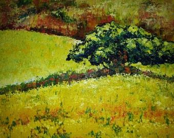 Summer acrylic 80 x 80 cm