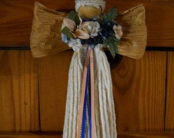 Angel Bouquet, Wedding Angel, Angel Wings, Flower Bouquet, Flower Bouquet Wall Hanging, Angel Wall Hanging, Dorm Decor Wall Hanging Angel