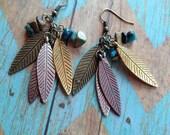 Southwest Boho Earrings,Southwest Jewelry, Boho Jewelry, Boho Earrings, Southwestern Earrings, Hippie Jewelry