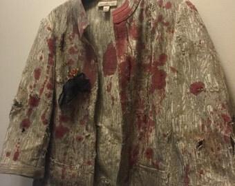 Zombie Costume, Walking Dead Costume, Halloween Costume, Horror, Hallowen