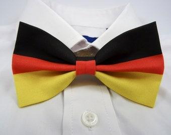 German Flag Bow Tie
