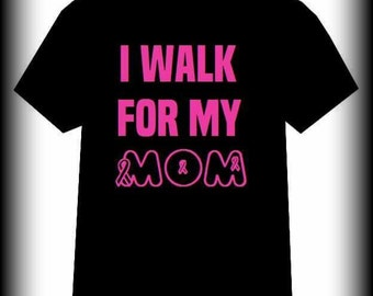 Walk for a Cure Cancer Shirt, Breast Cancer, Breast Cancer Awareness, Cancer, Leukemia, Fight for a Cure, Leukemia shirt, S, M, L, XL