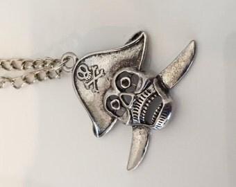 """18"""" Pirate Pendant Chain Necklace"""