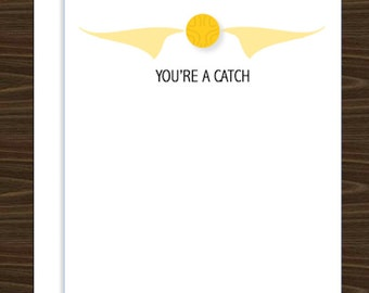 You're a Catch | Greeting Card - Harry Potter inspired
