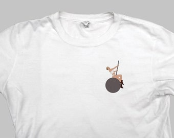 Miley Cyrus T Shirt - Wrecking Ball