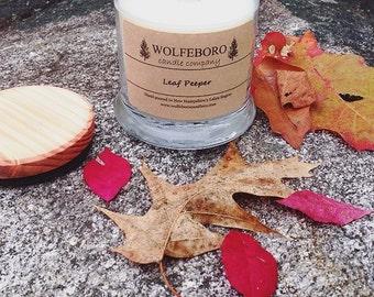 Leaf Peeper Soy Candle