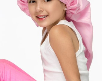 Sassy Hair Cap: Kids Sleep Cap